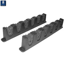 Rod Storage Holder Rack - TH Marine FRH-1P-DP - Holds 6 Rods - View 1