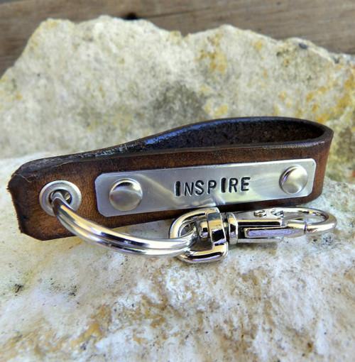 Inspire Leather Key Holder