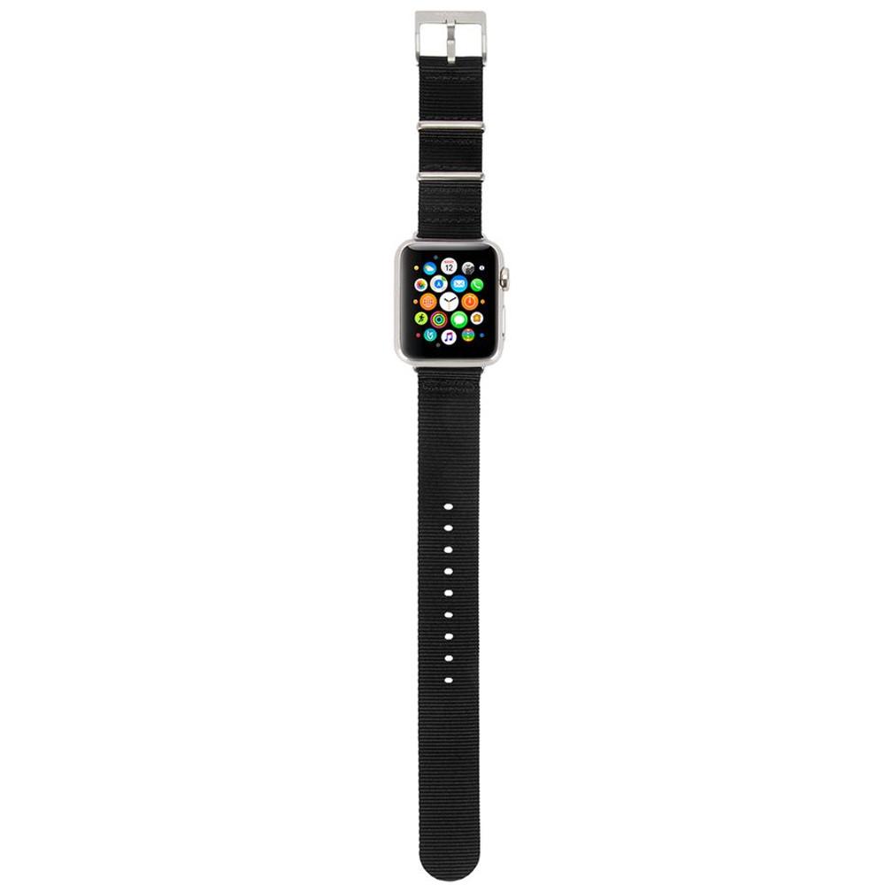 Incase Nylon Nato Band for Apple Watch 38mm - Black