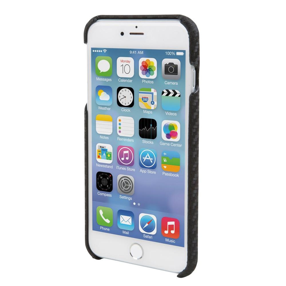 Hex Solo Wallet Case for iPhone 7 Plus - Black Carbon Fiber