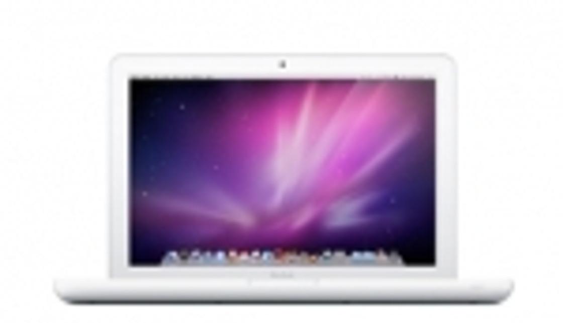 White Unibody MacBook