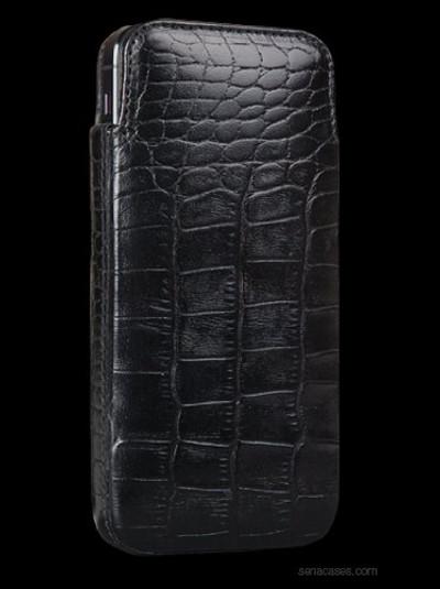 Sena Elega for iPhone 5S / 5 - Croco Black
