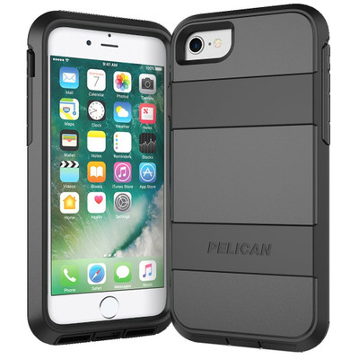 Pelican Voyager Case for iPhone 7 - Black / Black