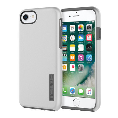 Incipio DualPro for iPhone 7 - Iridescent Silver / Charcoal