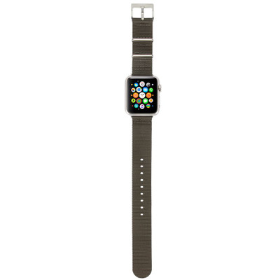 Incase Nylon Nato Band for Apple Watch 42mm - Anthracite