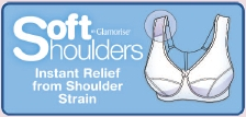 Soft Shoulders Comfort Bra...Instant Relief From Shoulder Strain!