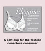 Glamorise Elegance - A soft cup for the fashion conscious consumer.