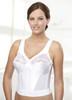 Glamorise Magic-Lift Long Line Support Bra White