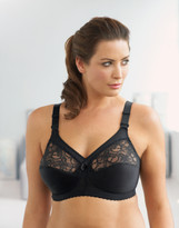 Glamorise Magic-Lift Convertible & Dual Adjustment Straps Bra Black