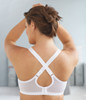 Glamorise Magic-Lift Convertible & Dual Adjustment Straps Bra - Back View 1