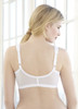 Glamorise Magic-Lift Front-Close Support Bra - Back View