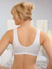 Glamorise Complete Comfort Front-Close Leisure Bra - Back View