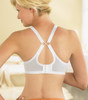 Glamorise Complete Comfort Plus Convertible Strap Stretch Lace Bra - Back View 1