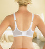 Glamorise Complete Comfort Plus Convertible Strap Stretch Lace Bra - Back View 2