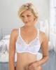 Glamorise Complete Comfort Plus Convertible Strap Stretch Lace Bra White