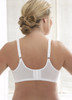Glamorise Magic-Lift Seamless Minimizer Wirefree Support Bra - Back View