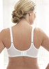 Glamorise Wonderwire Seamless Molded Underwire Bra - Back View