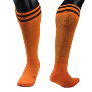 Lovely Annie Unisex 1 Pair Knee High Sports Socks Striped Size XS/S/M