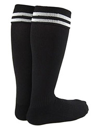 LLS Boy and Girl 2 Pairs Knee High Sports Socks for Baseball/Soccer