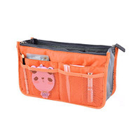 FUNOC Women Organizer Bag Purse Travel Handbag Pouch