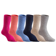 Lian LifeStyle 4 Pairs Children Wool Socks Size 11-13cm Boy Random Color