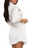 Staying Over Soft Satin Robe