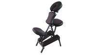 Sivan Health and Fitness Portable Massage Folding Chair Including Carrying Case (Chocolate)