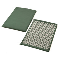 Sivan Health and Fitness Back Massage Acupressure Mat (Green)