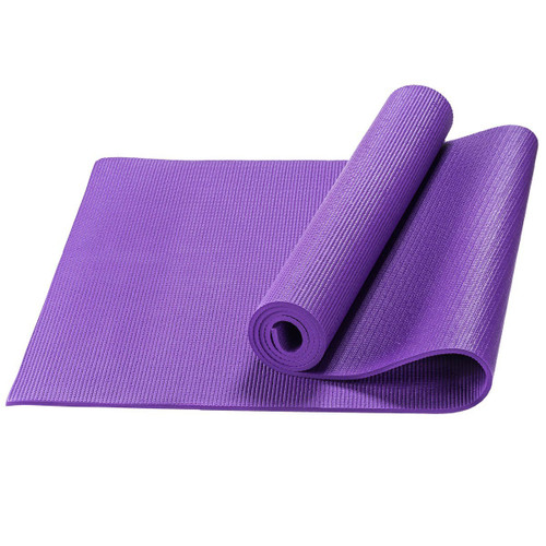 sivan health and fitness yoga mat for exercise yoga and pilates. Black Bedroom Furniture Sets. Home Design Ideas