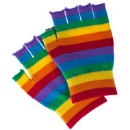 Gay Pride Fingerless Gloves - LGBT Gay and Lesbian Pride Apparel and Clothing
