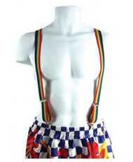 Rainbow Suspenders (Durable and Adjustable ) - LGBT Gay & Lesbian Pride Apparel