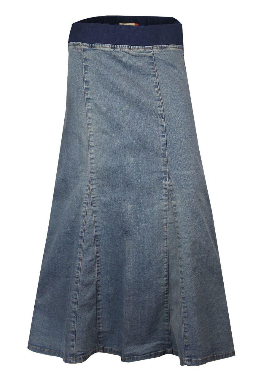 Denim Skirts Knee Length For Women UK