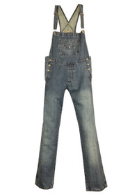 Long straight leg coin Pocket Dungarees