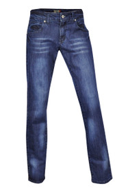 Dark Blue Stretch Denim  Straight Leg Jeans Plus Size 14 - 24