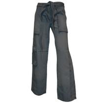 Wide leg Utility jeans