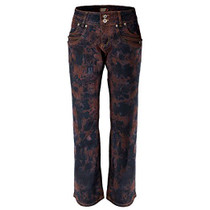 Clove Women's Jeans BootCut Low Rise Red Black Blue Tie Dye Size 10-24