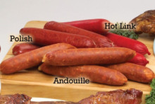 Hickory Smoked Polish Sausage Links