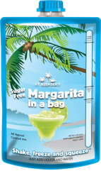All-Natural Sugar-Free Margarita in a Bag