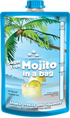 All-Natural Sugar-Free Mojito in a Bag