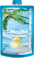 All-Natural Sugar-Free Mojito in a Bag