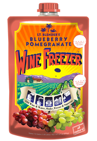 Blueberry Pomegranate Wine Freezer