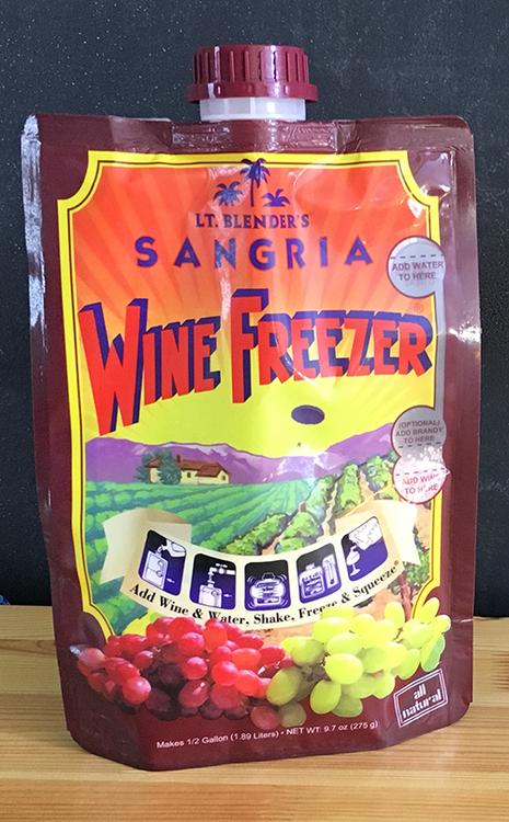 Sangria Wine Freezer - Lieutenant Blender's Cocktails in a Bag