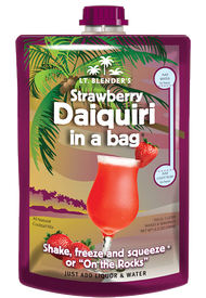 Strawberry Daiquiri in a Bag