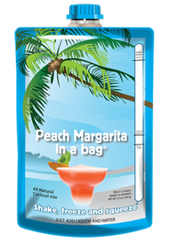 Peach Margarita in a Bag