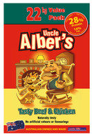22kg Uncle Alber's Beef & Chicken Dry Dog Food