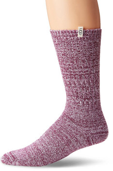 UGG Women's Rib Knit Slouchy Crew Sock (More Colors)