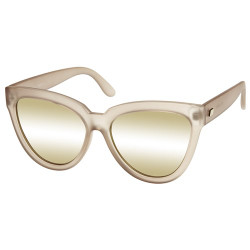 Le Specs Women's Liar Liar Cateye Sunglasses in Matte Stone