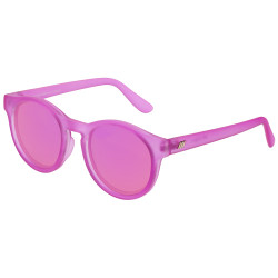 Le Specs Women's Hey Macarena Sunglasses in Matte Magenta