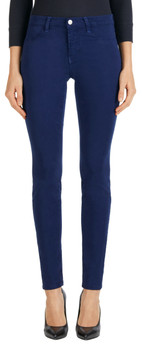 J Brand 485 Mid Rise Super Skinnny Jeans in Eclipse