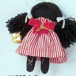 Jolly - Holly Dolly Cloth Ornament